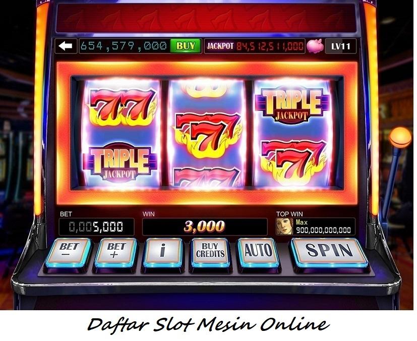Daftar Slot Mesin Online